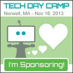 I'm a Sponsor of Tech Day Camp!!