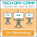 I'm Going to Be at Tech Day Camp - Are you?
